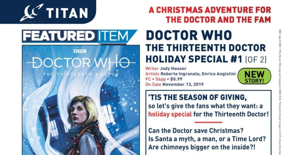 Dr Who Christmas Special 2019.Lcsd 2019 News Titan Connects Dr Who To The Holidays