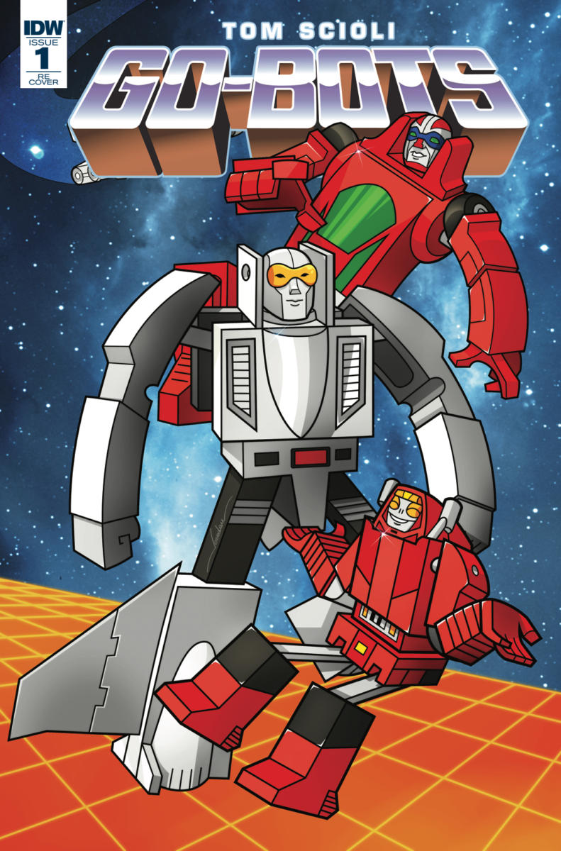 LCSD 2018 GO-BOTS #1 - IDW Publishing