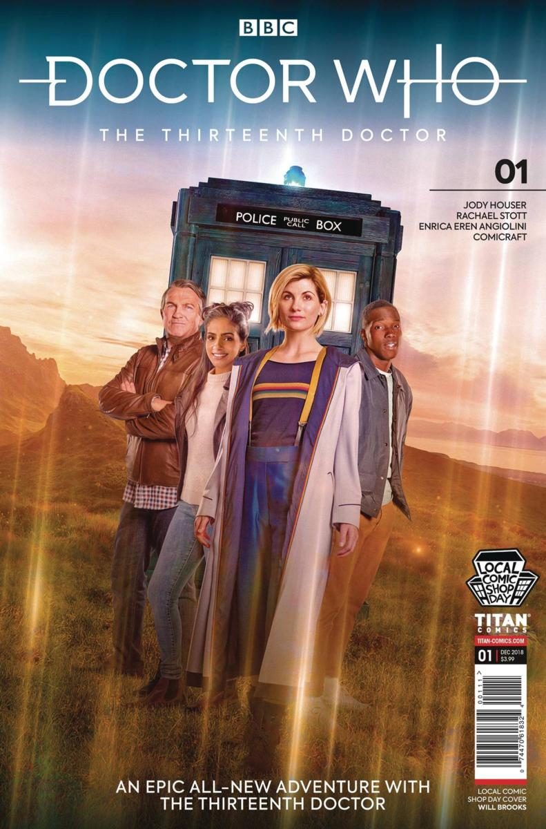 LCSD 2018 DOCTOR WHO 13TH DOCTOR #1 SET - Titan Comics
